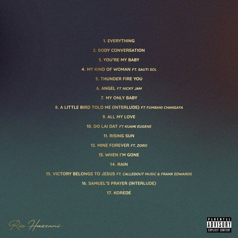 FULL ALBUM: Ric Hassani – The Prince I Became