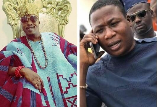 Oluwo Is A Bastard And Doesn't Have The Sense To Rule – Sunday Igboho Reply Oluwo Of Iwoland (Watch Video)