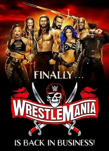 WWE WrestleMania 37 (2021) Night 01 & 02 Full Show