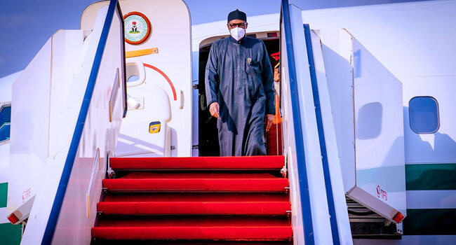 Buhari Returns To Nigeria After 'Short Rest' In London