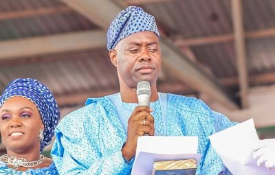 Gov Makinde Promises Palliatives For Traders Whose Properties Burnt In Auto Spare Parts Market