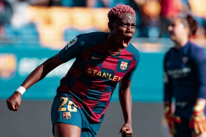 Nigeria's Asisat Oshoala Wins Second League Title With Barcelona