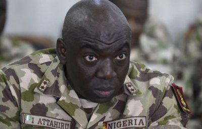 See What President Buhari Did To Honor The Late Chief Of Army Staff And Others