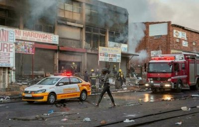 Update! Over 30 Persons Killed In South Africa's Protest Over Zuma's Imprisonment