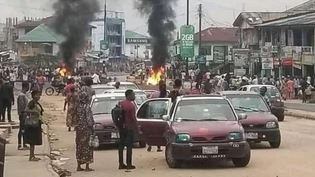 Ibadan Youths Protests Over Killing Of Teenager