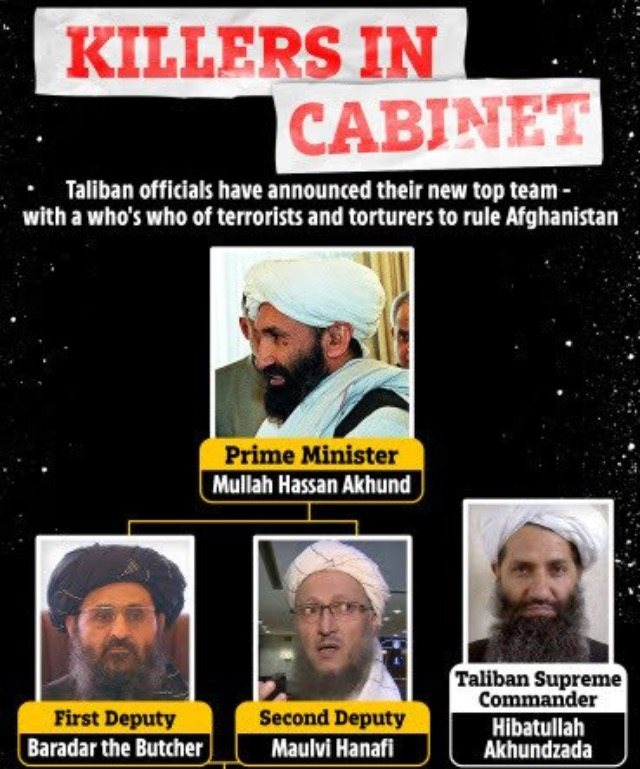 Biggest Threat Of 9/11-style Attack After Taliban Unveils Hellish Cabinet (Photos)