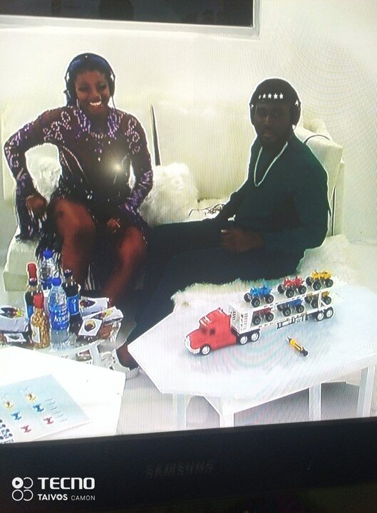 Pere And Angel In The Bbnaija White House To Play An Eviction Game