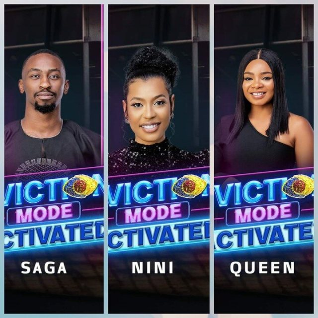 How BBNaija Viewers Voted For Queen, Nini, Saga, Angel And Pere