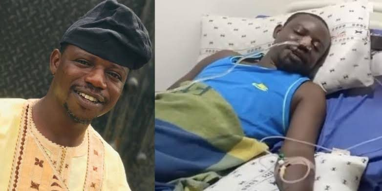 """Popular Yoruba Actor Babtunde Usman a.k.a """"Okele"""" Down With Unknown Ailment (Watch Video)"""