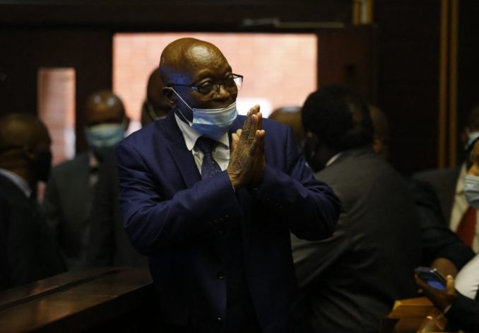 Nigerians task legal executive to copy South Africa as Zuma goes to prison