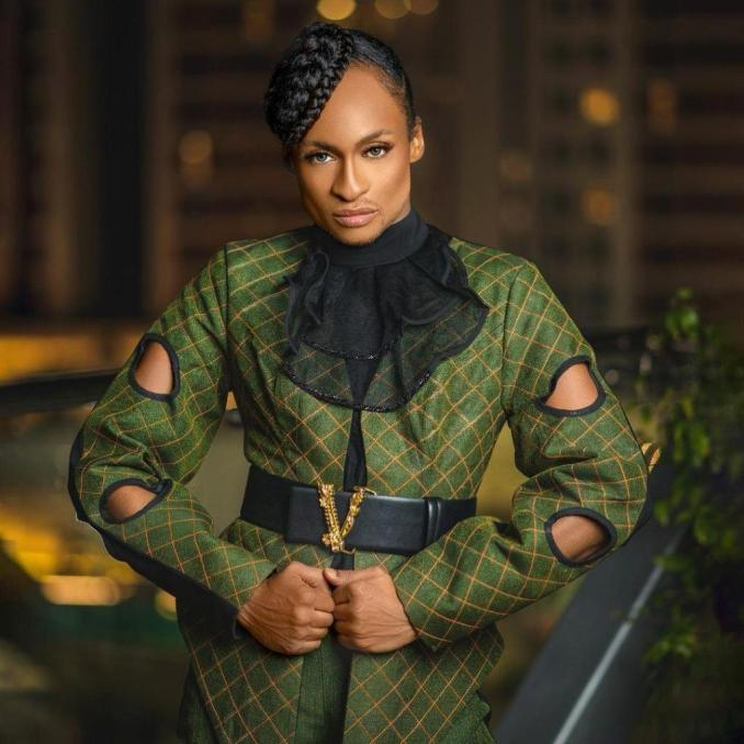 Crossdresser, Denrele Edun seems in men's outfit for the first time in 10 years