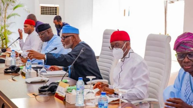 """""""The subsequent president must come from the south"""" Southern Governors declares"""