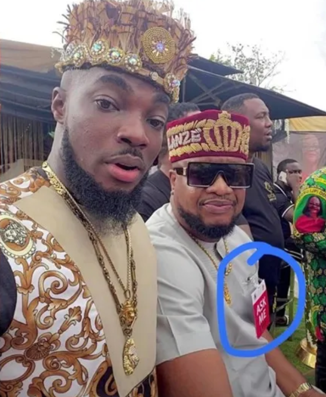 Veteran actor Browny Igboegwu dragged vastly on Social media for acting as an usher at Obi Cubana mother's burial ceremony