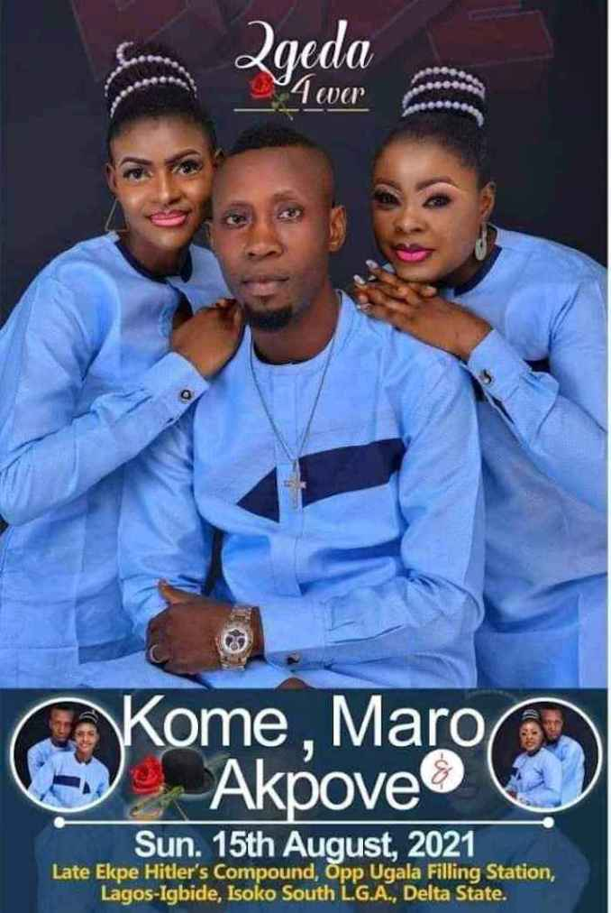 A Man From Delta Set To Wed Two Women on Same Day (Photo)