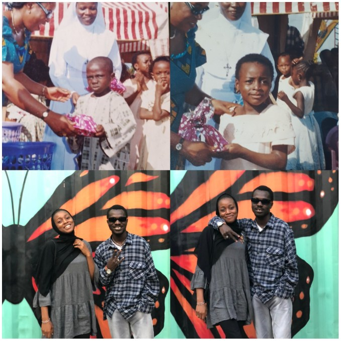 Popular Nigerian teenagers at the back of the iconic present presentation memes snap shots viewed putting out together