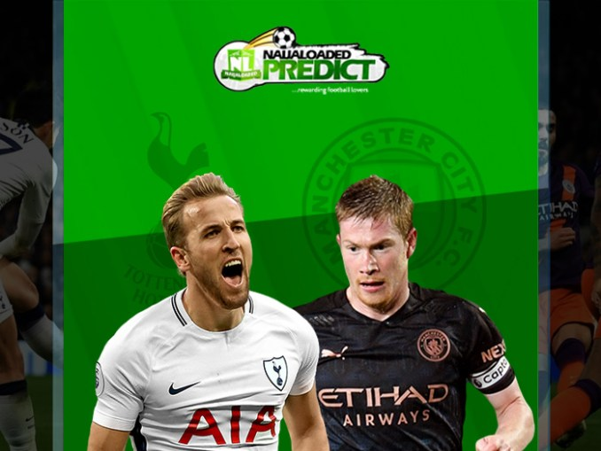 TOTTENHAM vs MAN CITY @ 6:30pm On Sunday – Who Will Score The First Goal? (Cool Cash To Be Won)