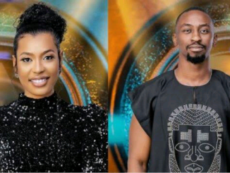 """BBNaija: """"I don't be apologetic about getting a strike for you"""" Saga tells his love activity Nini"""