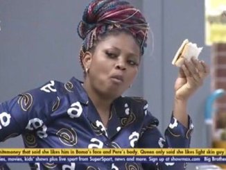 Married Tega noticed giving Cross a lap dance by using her thriller