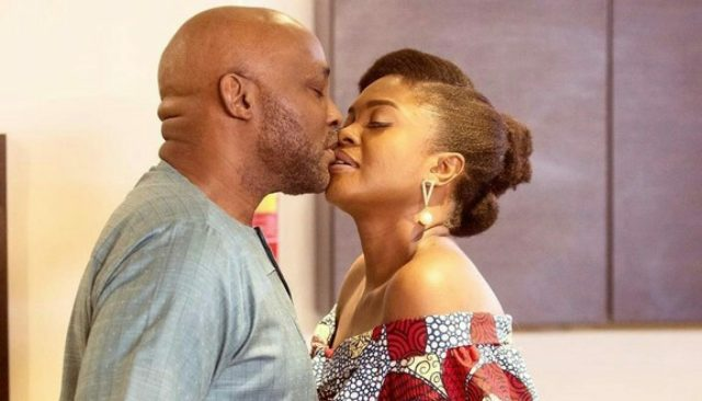 Omoni Oboli responds after a fan called her out for kissing RMD on TV