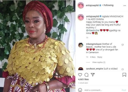 'This woman lost her integrity already, and she is heartless' Anita Joseph under fire for celebrating Rita Edochie on her birthday