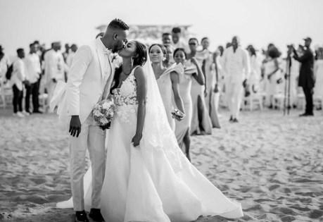 Simi got married to her husband Adekunle Gold