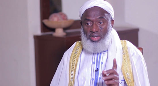 I Will Lock Aso Rock If My Child Is Kidnapped, Sheikh Gumi Says