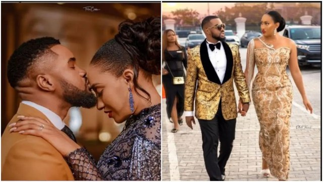 Just a few months of being married Williams Uchemba reveals his wife sneaks out of the bedroom at midnights