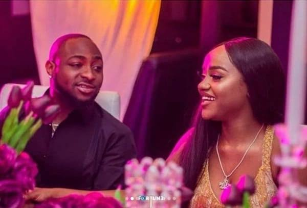 Davido's fiancee, Chioma allegedly pregnant with second child amidst Break up rumors