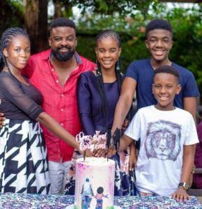 Kunle Afolayan Family and Kids