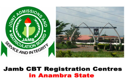JAMB Accredited/Approved CBT & Registration Centres in Anambra State 2021