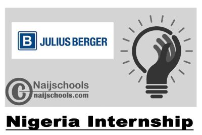 Julius Berger Nigeria Internship 2021 for Young Nigerians | APPLY NOW