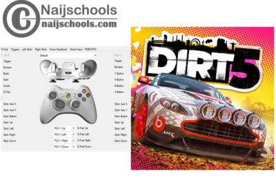 Dirt 5 X360ce Settings for Any PC Gamepad Controller | TESTED & WORKING