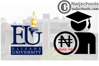 Elizade University School Fees Schedule for 2020/2021 Academic Session | CHECK NOW