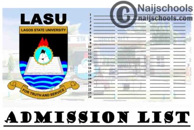 Lagos State University (LASU) Admission List for 2020/2021 Academic Session   CHECK NOW