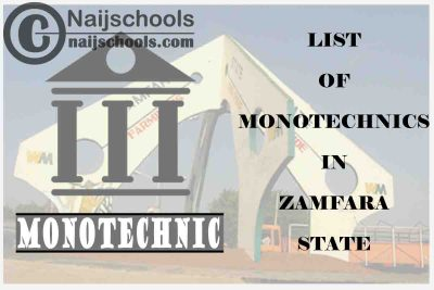 Full List of Accredited Monotechnics in Zamfara State Nigeria