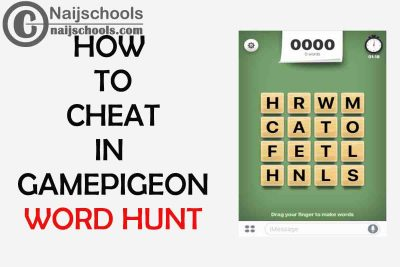 Complete Guide on How to Cheat in GamePigeon Word Hunt Game