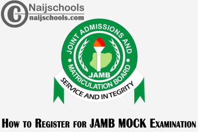 How and Where to Register for the 2021 JAMB Mock CBT Examination