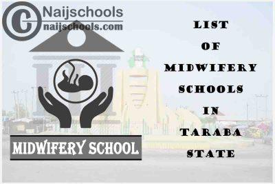 Full List of Accredited Midwifery Schools in Taraba State Nigeria