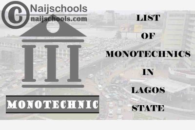 Full List of Accredited Monotechnics in Lagos State Nigeria