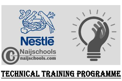 Nestle Nigeria Plc (ITF-NECA) Technical Training Programme 2021 for Young Nigerians | APPLY NOW