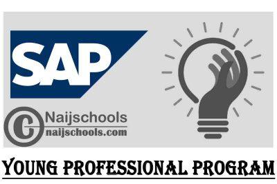 SAP's Young Professional Program Nigeria 2021 | APPLY NOW