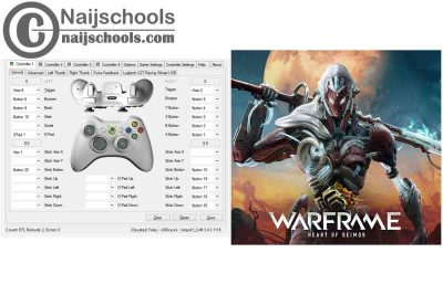 Warframe: Heart of Deimos X360ce Settings for Any PC Gamepad Controller   TESTED & WORKING