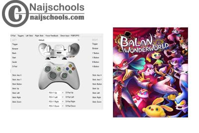 Balan Wonderworld X360ce Settings for Any PC Gamepad Controller | TESTED & WORKING