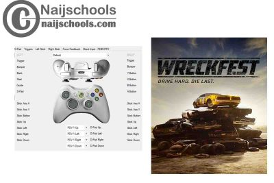 Wreckfest X360ce Settings for Any PC Gamepad Controller | TESTED & WORKING