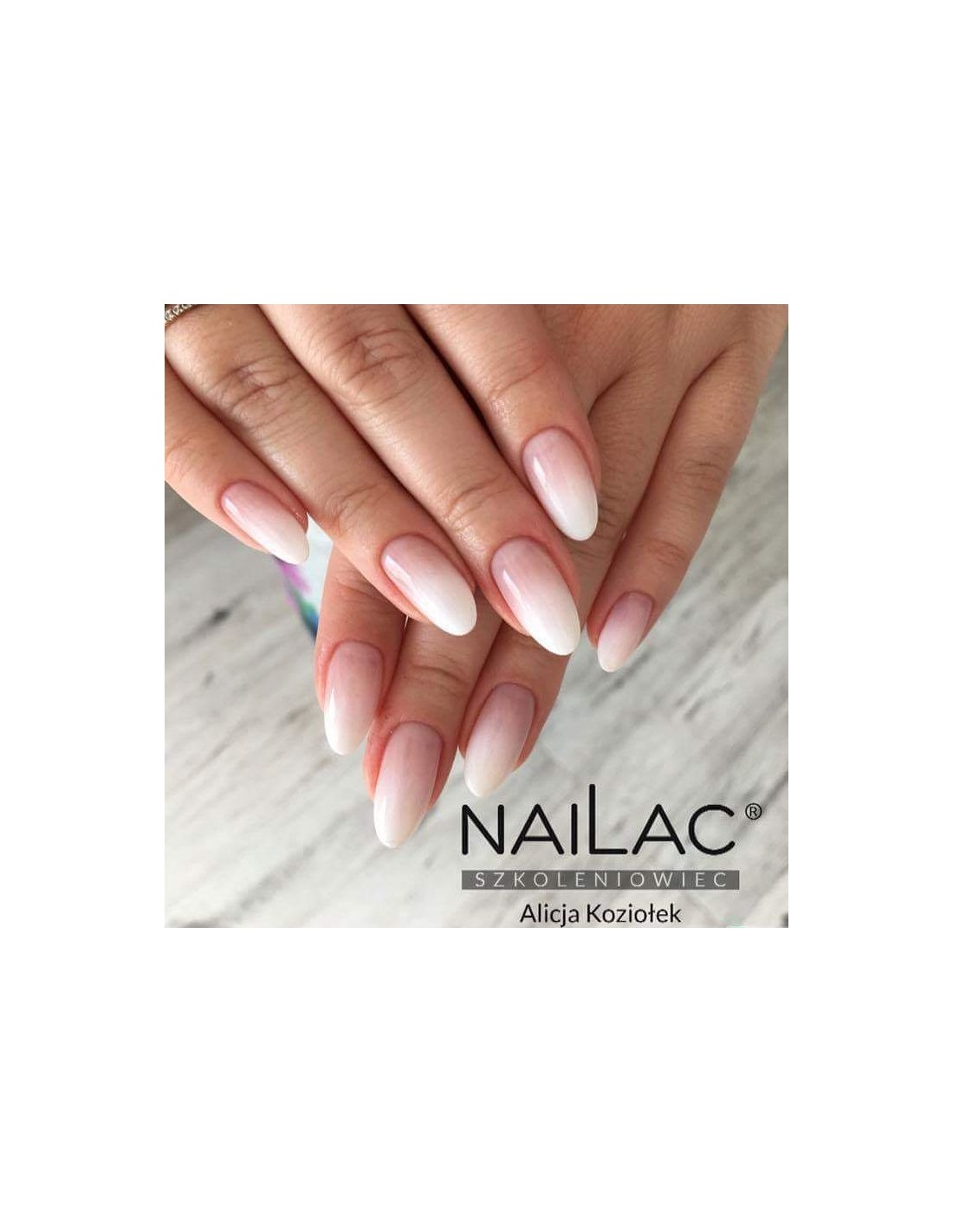 Transparent Milky Beige Hybrid Polish For French Manicure 010f