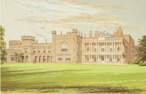 Edward Lear -Knowsley Hall