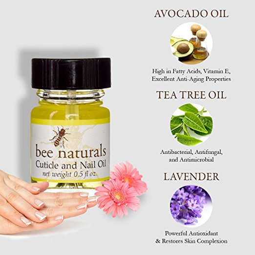 Best All Natural Cuticle Oil Bee Naturals Nail Oil