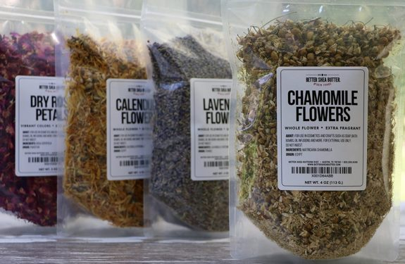 Dry Chamomile Flowers Broth For Nail Nutrition