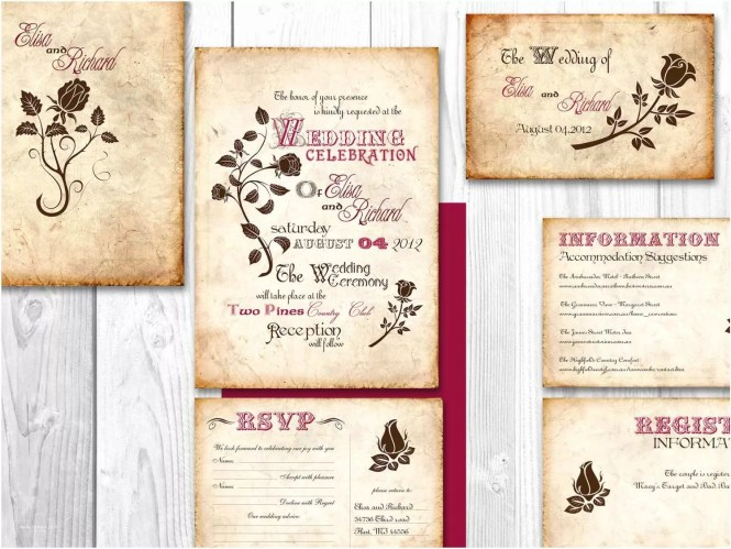 Wedding Invitations Create Own