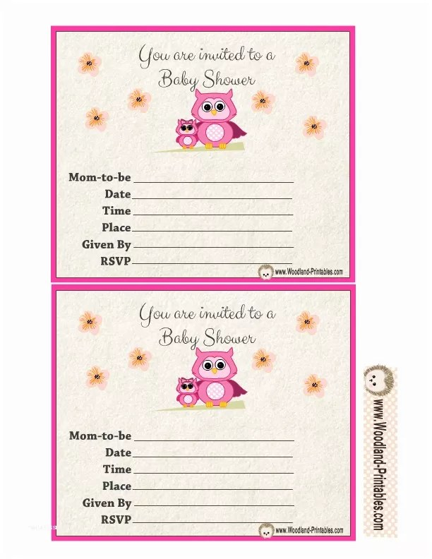 image regarding Free Printable Woodland Baby Shower Invitations named Free of charge Printable Woodland Youngster Shower Invites